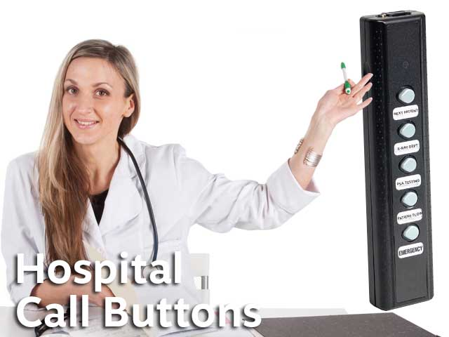 Healthcare Staff Patient Paging Systems Wireless Button