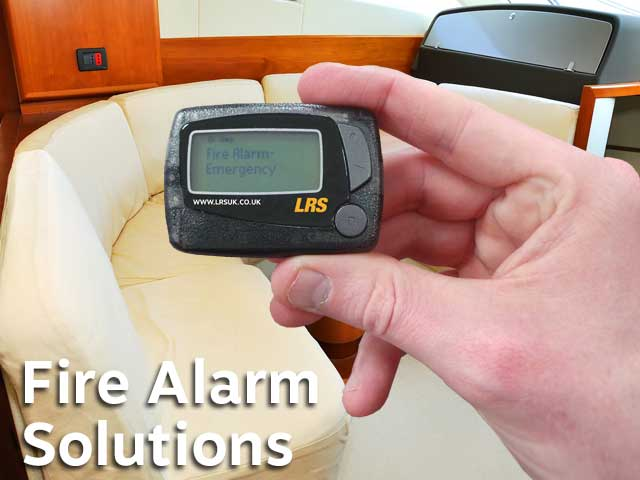 Marine Sector Fire Alarm Paging Solutions Lrs Uk