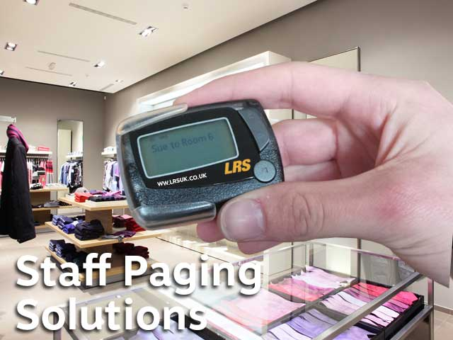 Fitting Room Call Buttons Customer Paging Staff Systems Radios