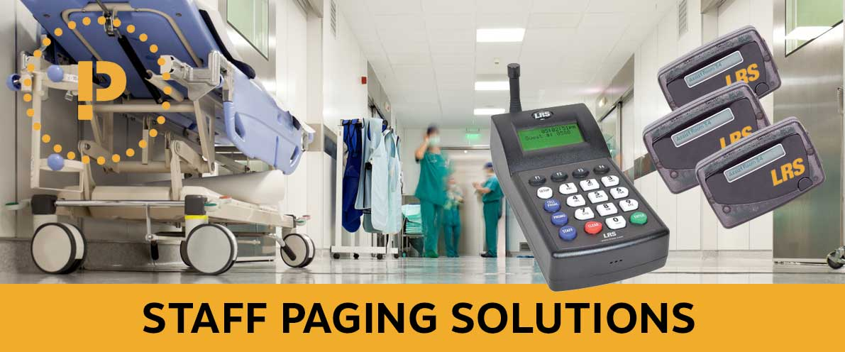 Healthcare Staff Paging Systems Hospital Communication LRS UK